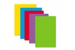 Gekleurd papier Pollen A4 120 grams assorti kleuren intensive 50 vel.