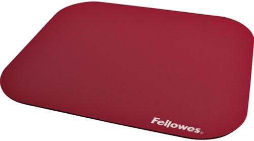 Muismat Fellowes standaard 233x200x3mm rood.
