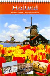 Verjaardagskalender Ryam Luxe 'Holland RVD' 22.5 x 33cm.