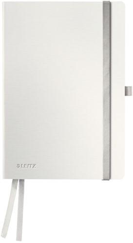 Notitieboek Leitz Style A5 zachte kaft poolwit - 80 vel 100 grams gelijnd ivoorpapier 4487-00-04.