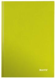 Notitieboek Leitz WOW A4  harde kaft groen - 80 vel 90 grams geruit papier.