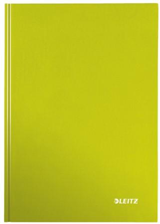 Notitieboek Leitz WOW A4  harde kaft groen - 80 vel 90 grams geruit papier (model/kleur 2019).