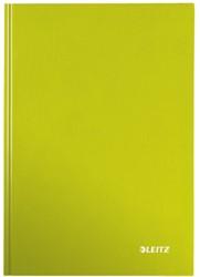 Notitieboek Leitz WOW A5  harde kaft groen - 80 vel 90 grams gelijnd papier.