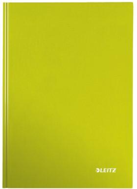 Notitieboek Leitz WOW A5  harde kaft groen - 80 vel 90 grams gelijnd papier (model/kleur 2019).