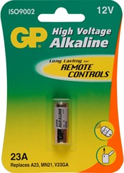 Batterij GP-23AC1 alkaline 12 volt MS21/MN21 high voltage.
