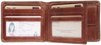 Portemonnee Brepols Maverick Dalian Mark II Billfold RFID 2 vensters + kleingeldvak donkerbruin.-2