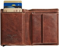 Pasjeshouder Brepols Maverick Dalian Mark II Secret wallet donkerbruin.-2