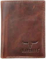 Pasjeshouder Brepols Maverick Dalian Mark II Secret wallet donkerbruin.