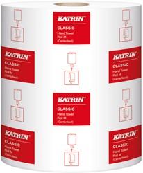 Handdoekrol Katrin Classic System M2 wit 20.5cm x 152mtr. 2-laags 6 rollen.