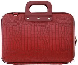 Laptoptas Bombata model Cocco 13inch 38x29x7cm in de kleur red.