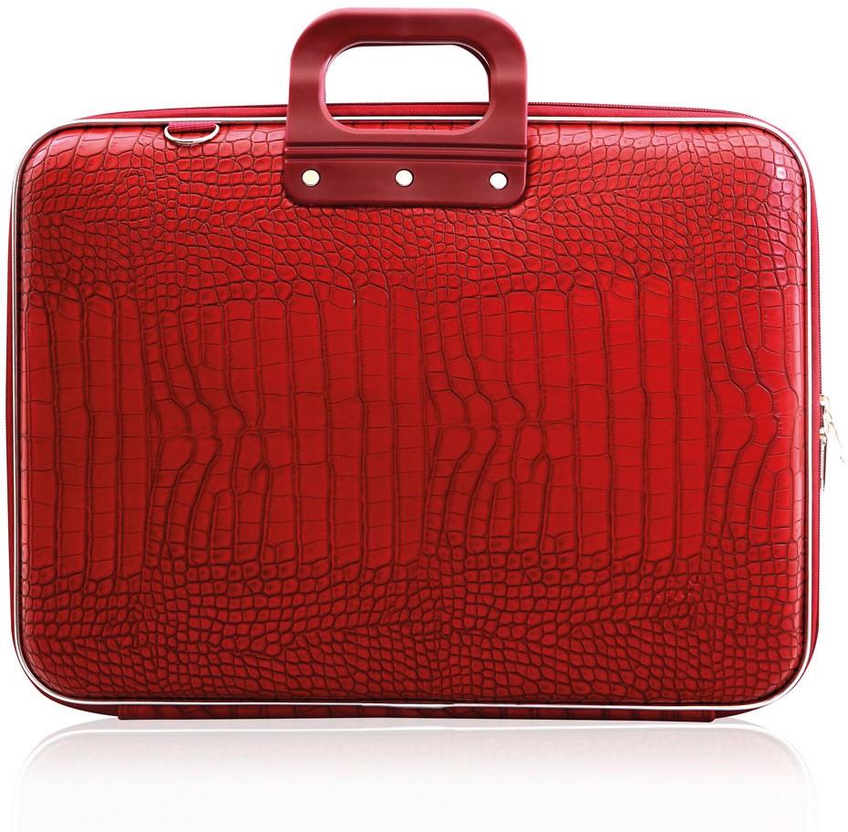 58c8c2dd81d Laptoptas Bombata model Cocco 17inch 46.5x35x8cm in de kleur red ...