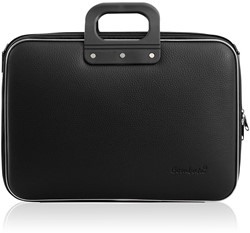 Laptoptas Bombata model Classic Business 15.6 inch 43x33x13cm in de kleur black.