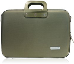 Laptoptas Bombata model Business 15.6 inch 423x33x13cm nylon in de kleur green.