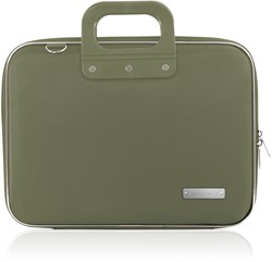 Laptoptas Bombata 13inch 38x29x7cm nylon in de kleur green.