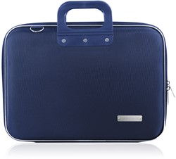 Laptoptas Bombata 15.6inch 43x33x7cm nylon in de kleur dark blue.