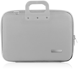Laptoptas Bombata 15.6inch 43x33x7cm nylon in de kleur grey.