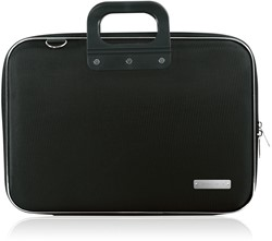Laptoptas Bombata 15.6inch 43x33x7cm nylon in de kleur black.
