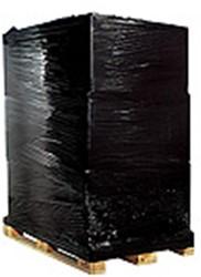 Palletwikkelfolie 50cm x 300m dikte 20 my  zwart.