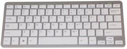 Toetsenbord compact Qwerty grijs.