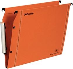 Hangmap Esselte Orgarex Premium LMG lateraal met 15mm bodem incl. ruiters 25 stuks.