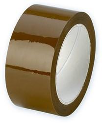 Verpakkingstape Ecopack 50mm x 50m bruin.