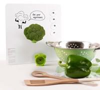 Magneetbord Dresz Broccoli 29x29cm incl. 4 magneten.-2