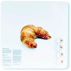 Magneetbord Dresz Croissant 29x29cm incl. 4 magneten.