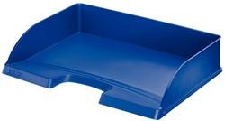 Brievenbak Leitz 5218 Plus A4 dwars blauw.