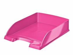 Brievenbak Leitz 5226 Plus WOW A4 roze metallic.