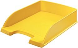 Brievenbak Leitz 5227 Plus A4 geel.