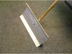 Sneeuwschuiver metalen blad incl. steel.