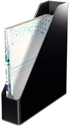 Tijdschriftcassette Leitz 5362 Duokleur zwart/grijs.