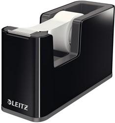 Plakbandhouder Leitz 5364 Duokleur zwart/grijs.