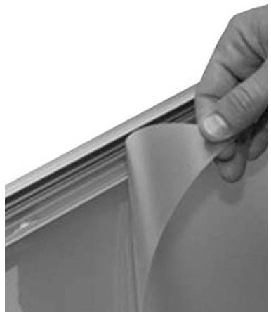 Beschermfolie A1 59.4x84.1mm transparant.