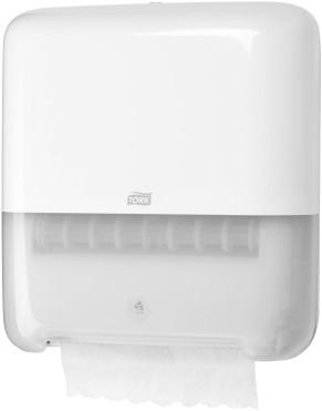 Handdoekroldispenser Tork wit systeem H1.