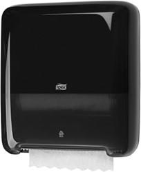 Handdoekroldispenser Tork zwart systeem H1. OP=OP!