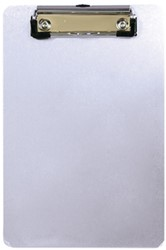 Klembord Alco A4 staand met klem aluminium.
