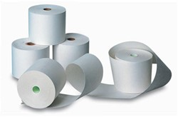Telrol 57mm x 60mm x 12mm thermisch papier 5 stuks.