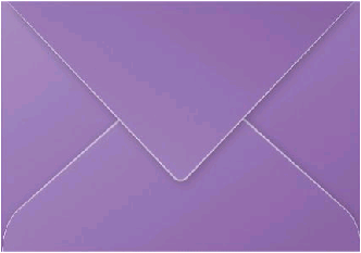 Gekleurde envelop Pollen C5 162x229mm 120 grams violet 20 stuks.