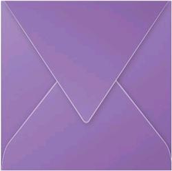 Gekleurde envelop Pollen 140x140mm 120 grams violet 20 stuks.