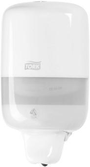 Zeepdispenser Tork wit mini 475ml systeem S2.