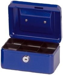 Geldkist Maul 152x125x81mm blauw