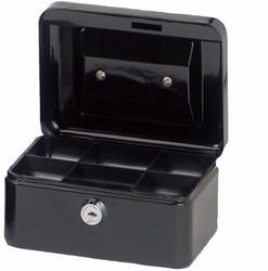 Geldkist Maul 152x125x81mm zwart.