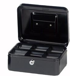 Geldkist Maul 200x170x90mm zwart.