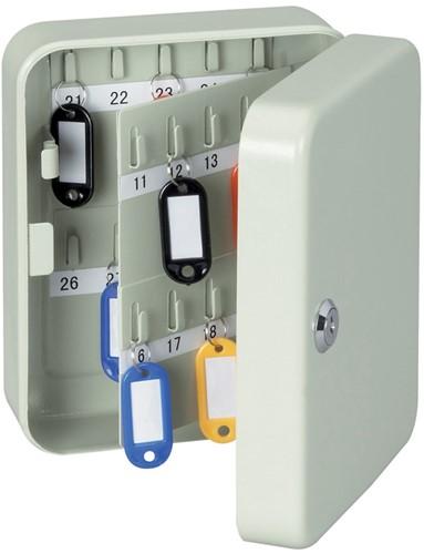 Sleutelkast Maul capaciteit 40 sleutels grijs.