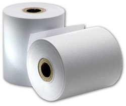 Kassarollen thermisch 58x35x12mm - 12 meter thermisch papier per kassarol - pak 5 rol.