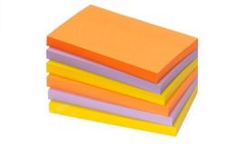 Zelfklevend memoblok Info-Notes 125x75mm assorti kleuren fresh 6 stuks.