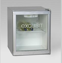 Tafelkoelkastje met glazen deur  R600A 50W 50x44x47cm.