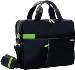 Laptoptas Leitz Smart Traveller 13.3 inch zwart.