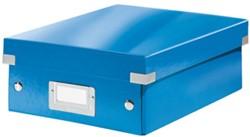 Opbergbox Leitz Click&Store A5 220x282x100mm blauw.